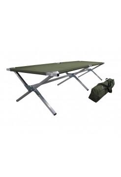 Туристическая кровать раскладушка Брода М 210 Хаки