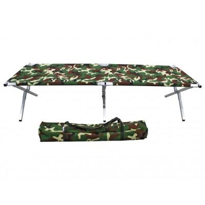 Туристическая кровать раскладушка Брода М 210 Камуфляж