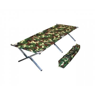 Туристическая кровать раскладушка Брода М 190 Камуфляж